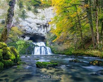 Fine Art Print of Source du Lison, Doubs, France - Wall Art - Landscape Photography