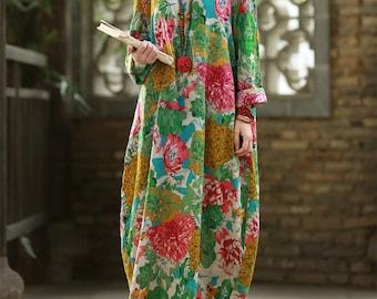 41fbc4306534 Flower print tunic dress