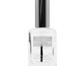 Two In One Base/Top Coat - Nail Polish; Non-Toxic, Vegan, and Cruelty-Free