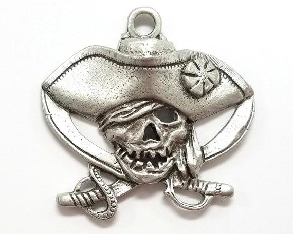 Shark Pewter Pendant by Treasure Cast