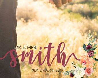 Custom Snapchat Filter, Custom Wedding Snapchat Filter, Wedding Snapchat Geofilter, Snapchat Geofilter, Mr. & Mrs. Snapchat Filter