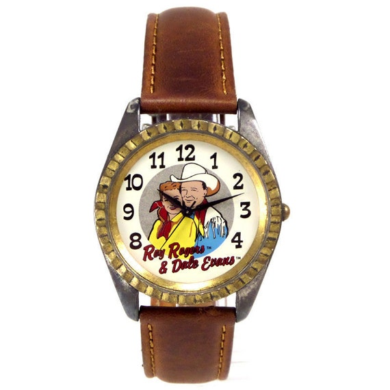 Roy Rogers and Dale Evans Fossil Made Vintage Unwo