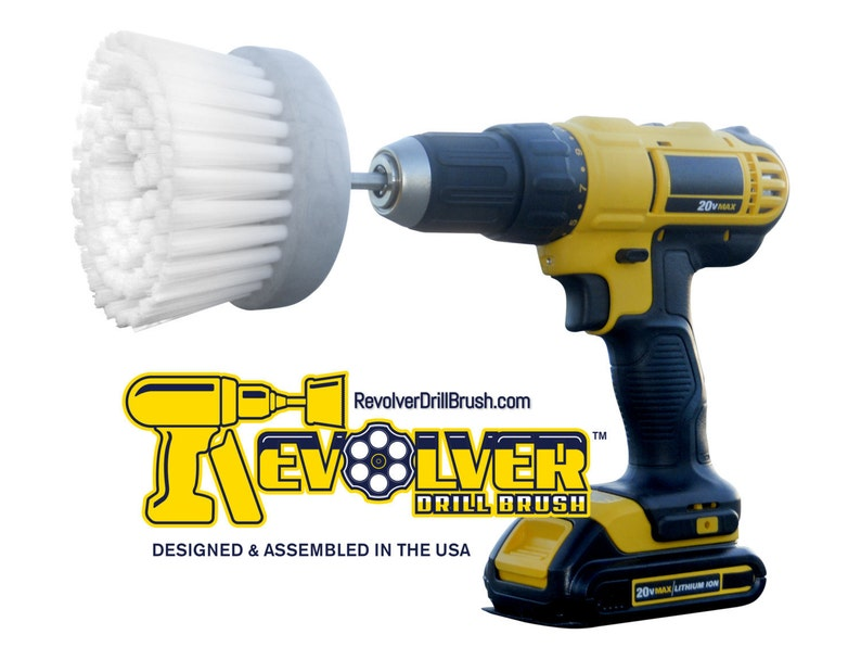 The REVOLVER DRILL BRUSH® Power Scrubber Cristmas GiftHome image 0