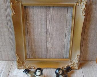 Vintage Gold Frames Etsy