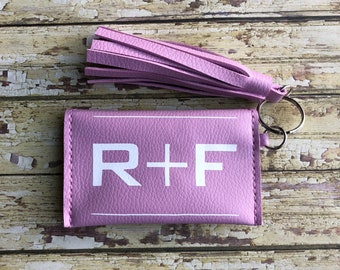 Rodan and Fields Business Card Holder, sample holder, keychain, coin purse, R + F