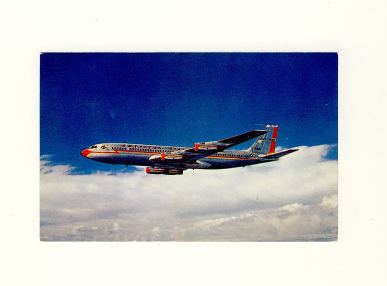 T43 American Airlines B707-320