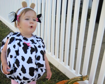 Cow Costume, Cow Costume Child, First Halloween Costume, Cow Costume Toddler Boy, Cow Costume Toddler Girl, Cow Outfit Baby, Animal Costume