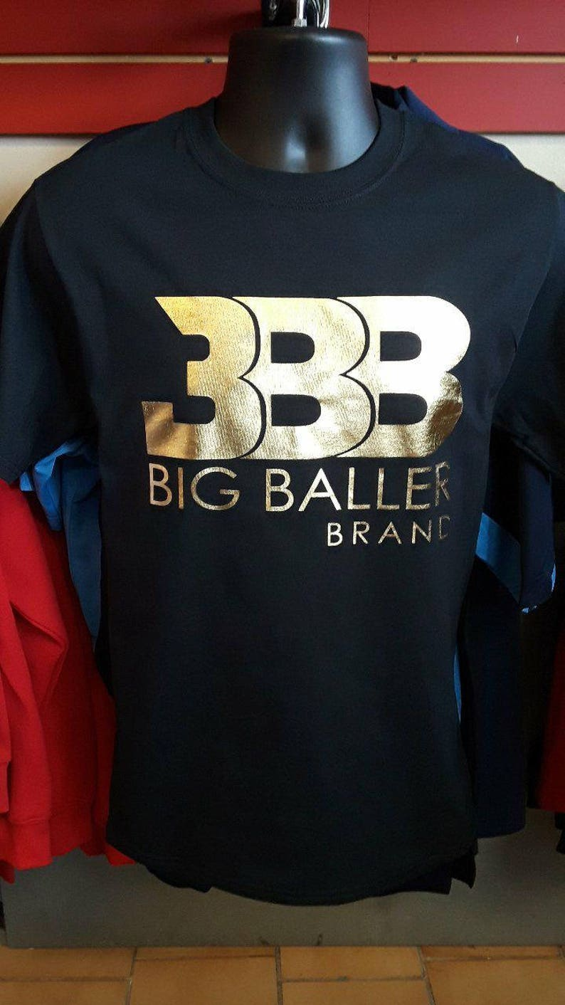 d1032db4ec9a Big Baller Brand Premium Gold Tshirt Adult Sizes   Etsy