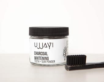 Charcoal Toothpaste, Whitening toothpaste, Tooth powder, Free shipping, Activated Charcoal, Natural, Tooth and Gum powder, Toothpaste