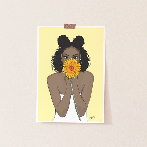 black girl magic african american art wall art melanin