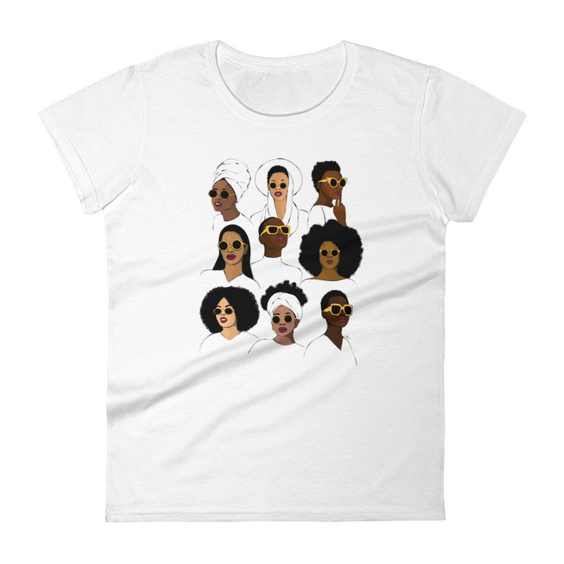 878c42b3 Black girl magic melanin t-shirt black queen t-shirt black   Etsy