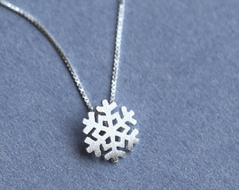 Snowflake necklace - Sterling Silver