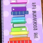 The Bookworm Life Reading Planner - Reading Notebook - Book Planner - Book Lover Gift - Undated Weekly Planner - Reading Journal - Reviews
