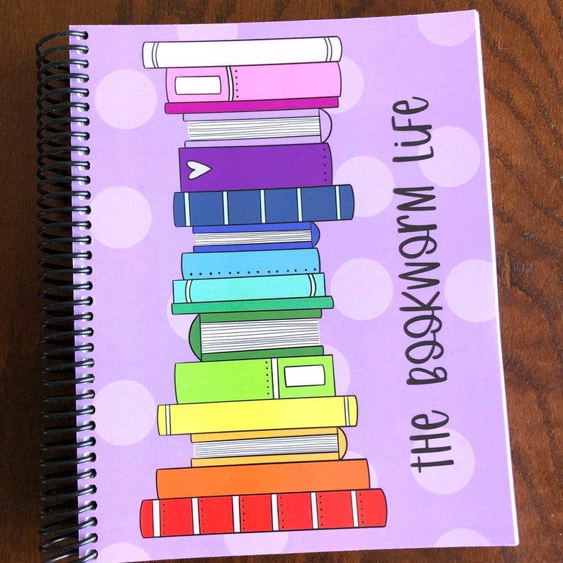 The Bookworm Life Reading Planner  Reading Notebook  Book image 0