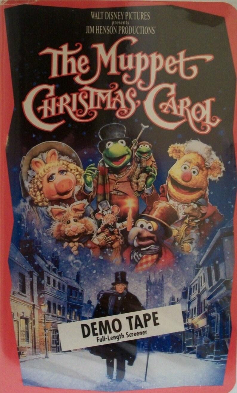 Muppet Christmas Carol Vhs.The Muppet Christmas Carol Demo Vhs
