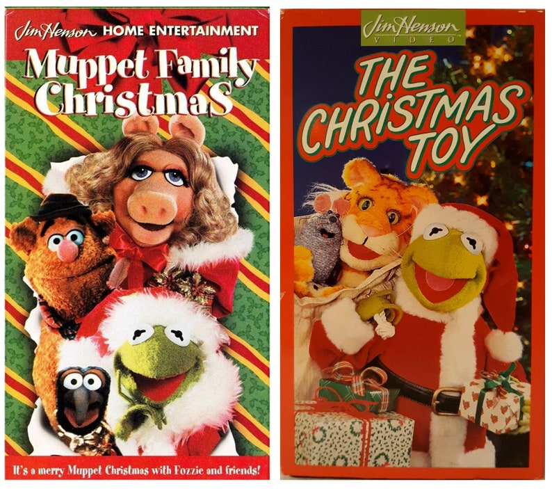 Muppet Family Christmas.Muppet Family Christmas The Christmas Toy Vhs
