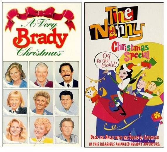A Very Brady Christmas.A Very Brady Christmas Vhs And The Nanny Christmas Special Vhs