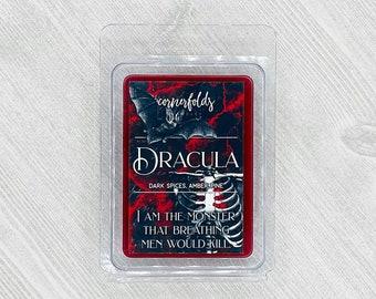 Dracula Wax Melt   Dracula Inspired Scented Soy Wax Melt