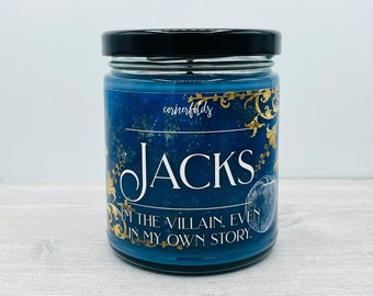 Jacks Candle   Once Upon a Broken Heart Inspired Scented Soy Candle