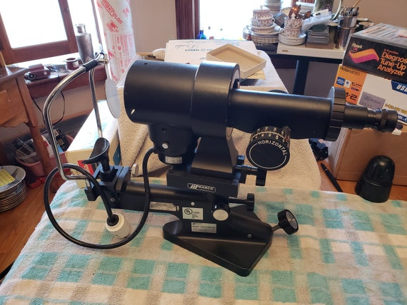 Vintage Optical Marco Keratometer Eye testing equipment Optometrist