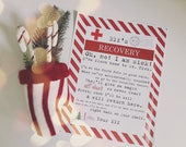 Christmas Elf Recovery Letter if Touched and Lost Magic Printable - Vintage Typewriter Style - INSTANT Downloadable Printable PDF