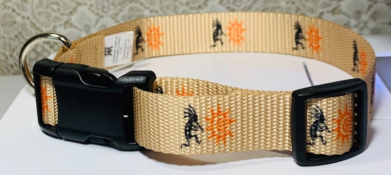 Kokopelli Dog Collar image 0