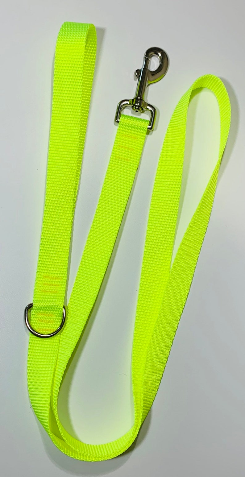 Hot Yellow Dog Leash image 0