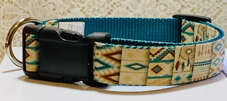 Aztec  Native American Dog Collar image 0
