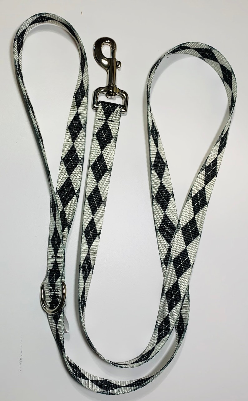 Argyle Dog Leash image 0