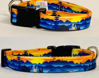 Great Outdoors Dog Collar, Leash &/OR Keychain