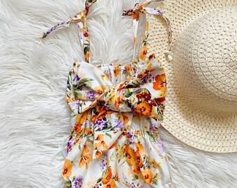 Baby girl clothes, baby girl romper, Newborn Romper, Coming Home Outfit, baby girl outfit, baby clothes, cute girl outfit, birthday outfit