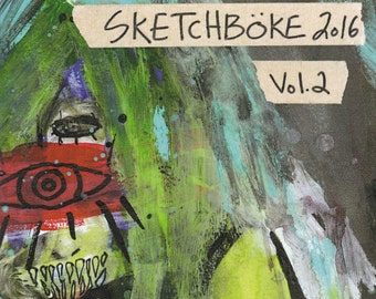 Sketchboke 2016 vol. 2 - Zine   Full Color