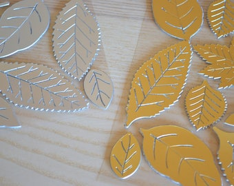 Adhesive Metallic Leaf