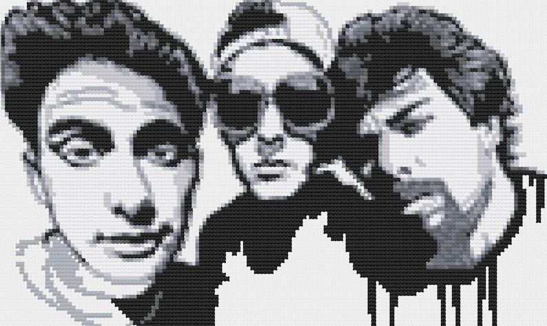 Beastie Boys Cross Stitch Pattern Etsy