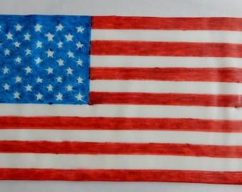 26b5f21e5a0 Fondant American Flag