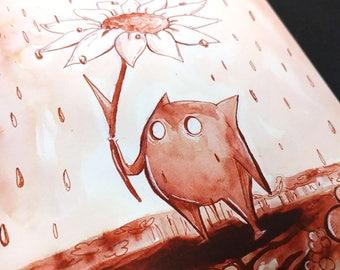 Crumble in the Rain
