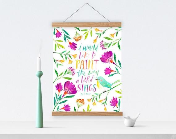 Art Studio Decor Craft Room Sign Printable Wall Art Quote Etsy