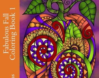 Fabulous Fall Coloring Book 1 PDF