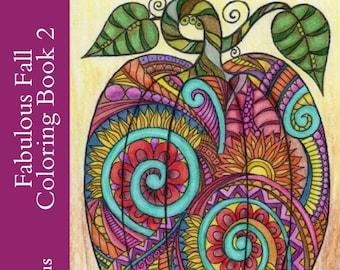 Fabulous Fall Coloring Book 2 PDF