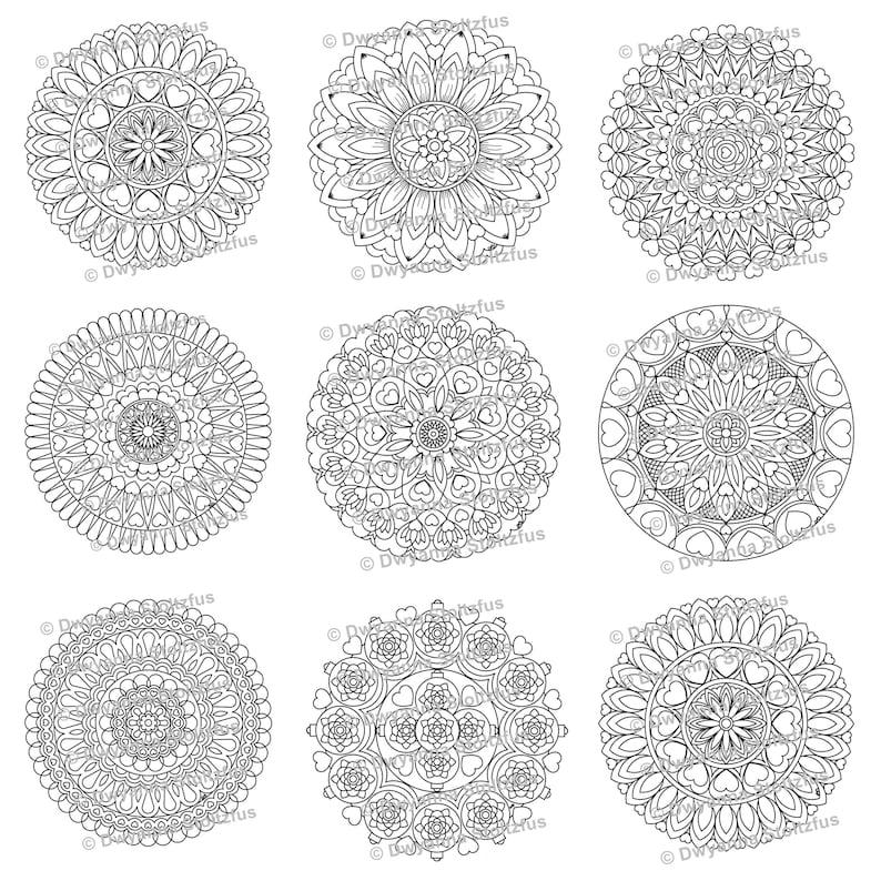 Marvelous Mandalas Coloring Book PDF