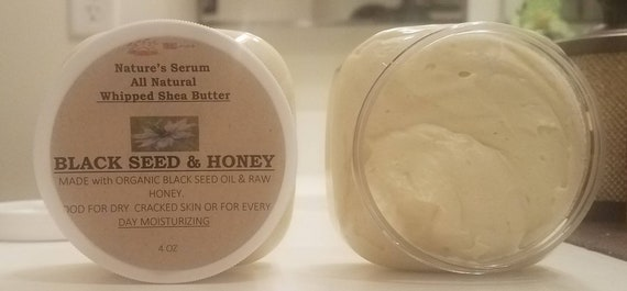 Black Seed & Honey Whipped Shea Butter with Vitamin E
