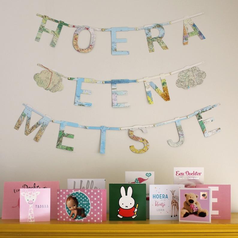 name banner nursery birthday alphabet letter recycled image 0