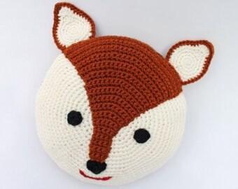 Ravelry: Fox Pillow / Cushion pattern by Kristine Kuluka   270x340