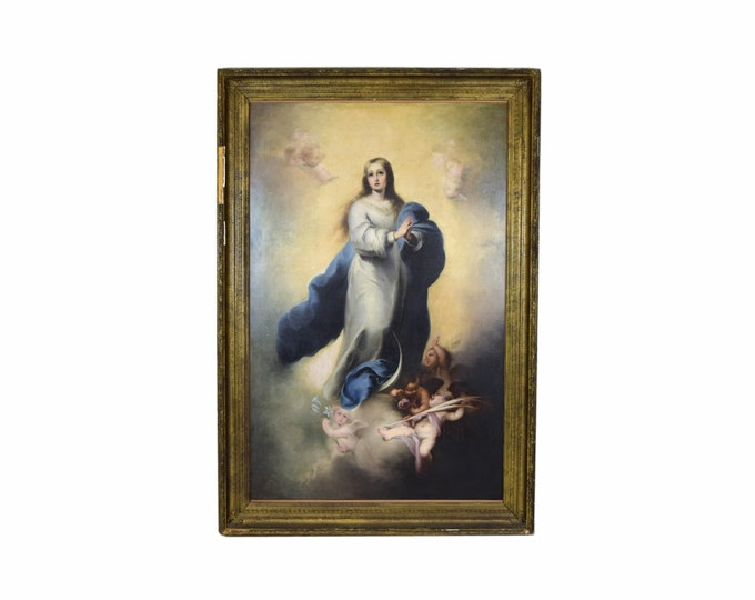 Huge The Immaculate Conception Oil Painting after Giovanni Battista Tiepolo