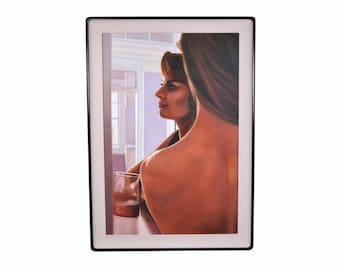 Adrian Deckbar 1987 Photorealist Oil Painting Intimate Women New Orleans