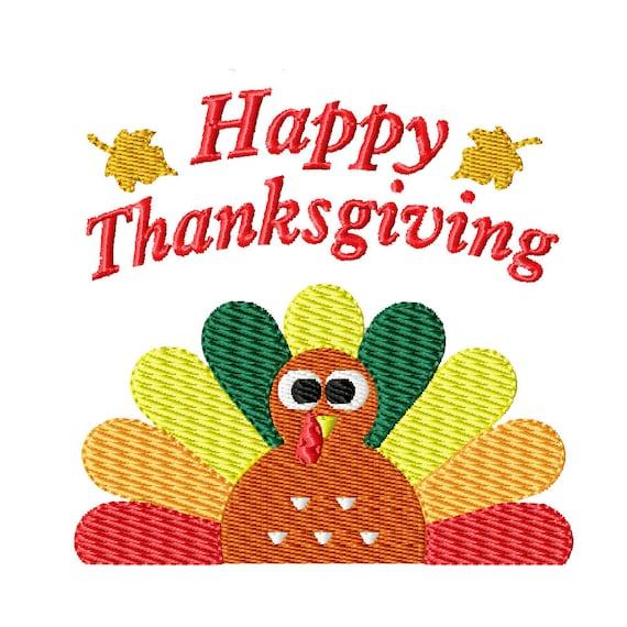 Thanksgiving Turkey- Machine Embroidery Design