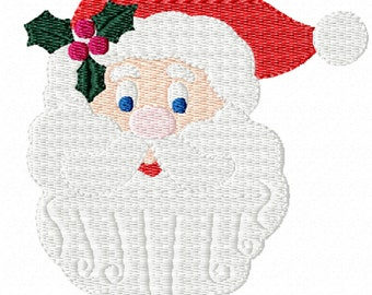 Santa -A Machine Embroidery Design for Christmas