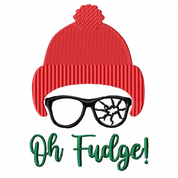 Oh Fudge! -A Machine Embroidery Design for Christmas