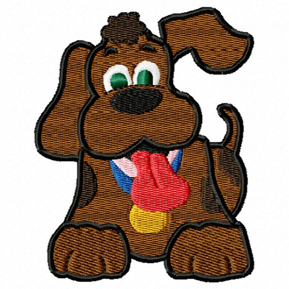 Puppy Love 2- A Machine Embroidery Design