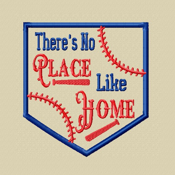 There's No Place Like Home -A Machine Embroidery